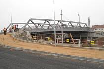 Nový most  v Modřicích.