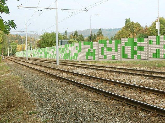 Protihlukovou stěnu v Bystrci, která tam stojí od roku 1984, opravují.