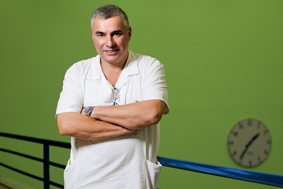 Ředitel FN Brno Jaroslav Štěrba