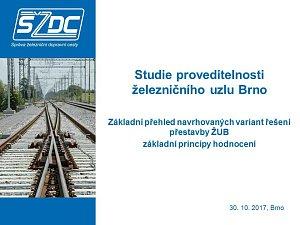 Studie proveditelnosti železničního uzlu Brno