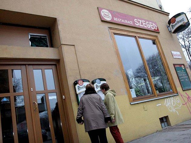 Restaurace Szeged  v Brně