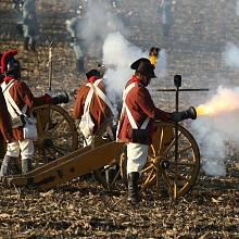 Dvě stě padesát francouzských vojáků se na Slavkovském bojišti postavilo proti přesile koaličních vojáků v uniformách ruské a rakouské armády.