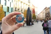 Limitovaná edice kuliček z brněnského orloje ke Světovému dni diabetu.