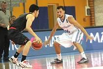 Čeští basketbalisté v Brně zdolali Japonsko.