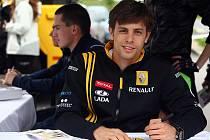 Jezdec světové serie Renault Jan Charouz.