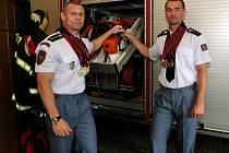 Brněnští hasiči přivezli ze Světových her policistů a hasičů v kanadském Vancouveru sedm medailí.