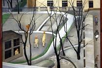 0brazem Kateřinky, zlý sen z roku 1926 se Vostřebalová Fischerová vyrovnává s koncem vztahu s Otokarem Fischerem. Dílo je metaforou mezilidských vztahů, poukazuje na nejistou hranici normality a šílenství. Na stromě autorka vyobrazila samu sebe.