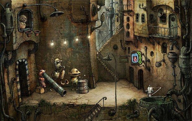 Adventura Machinarium z brněnského herního studia Amanita Design. Byla vydána 16. října 2009.