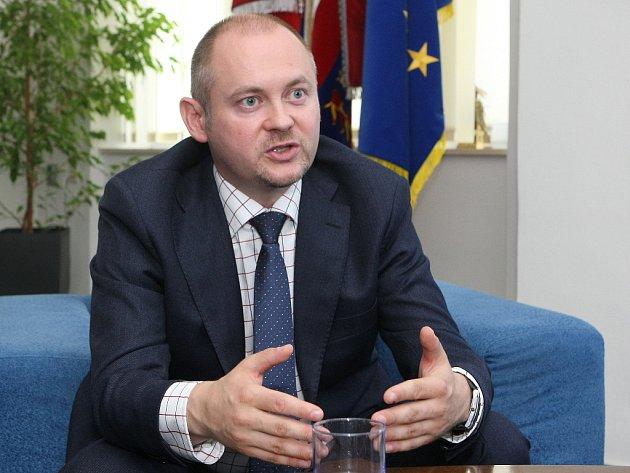 Stávající hejtman Jihomoravského kraje Michal Hašek.