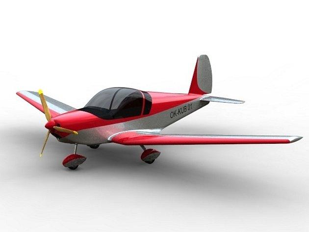 Model dvoumístného sportovního letadla Skaut.
