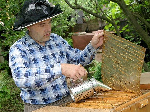 Ilustrační: včelař