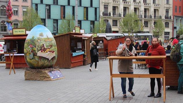 Na náměstí Svobody začaly Velikonoční slavnosti