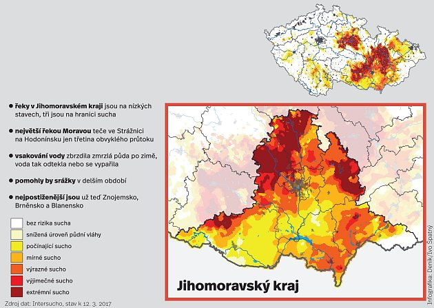 Mapa sucha.