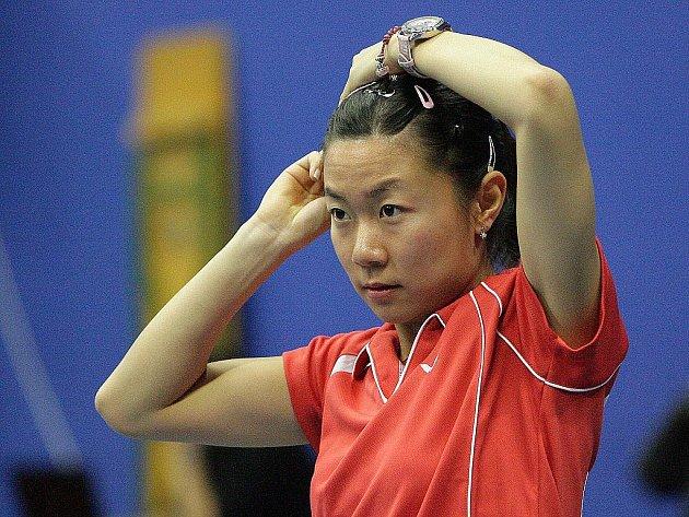 Badmintonistka Linlin Wang.