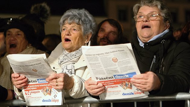 Česko zpívá koledy: na jižní Moravě se lidé zapojili na víc než osmdesáti místech