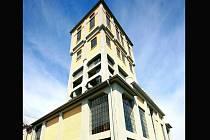 Těžební věž dolu Kukla. Ilustrační foto.