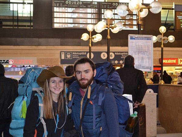 Výprava začala na brněnském hlavním nádraží.