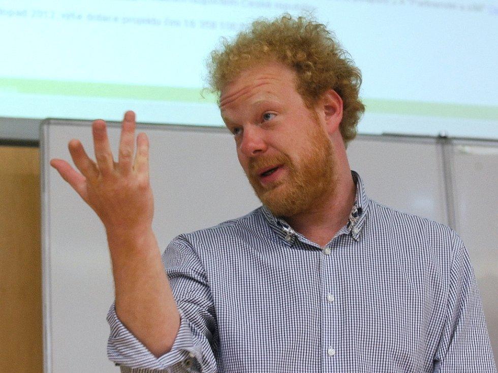Ekonom Tomáš Sedláček.