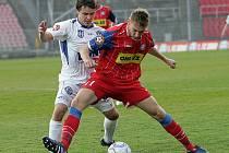 Fotbalisté 1. FC Brno porazili na domácí půdě Kladno 3:0.