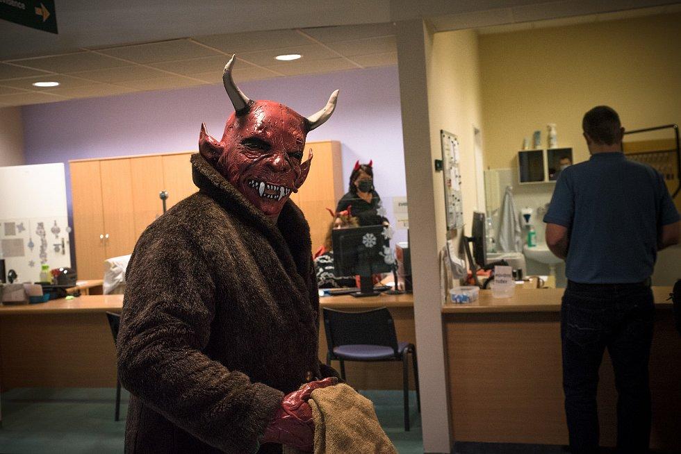 Mikuláš ve Fakultní nemocnici Brno obdaroval dárce