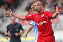 Tomáš Došek se diví, že rozhodčí neuznal gól do boleslavské sítě.
