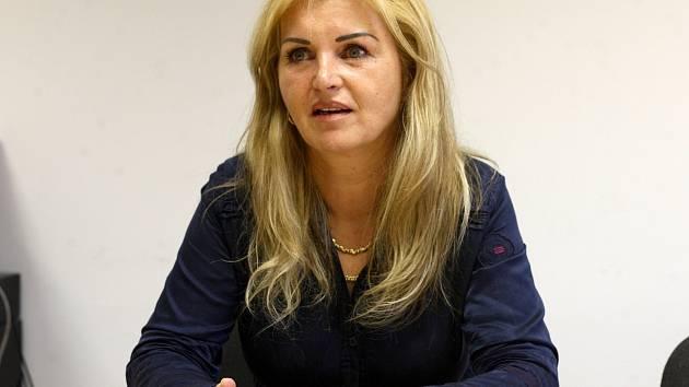 Manželka zavražděného Michala Tofla Eva Toflová.