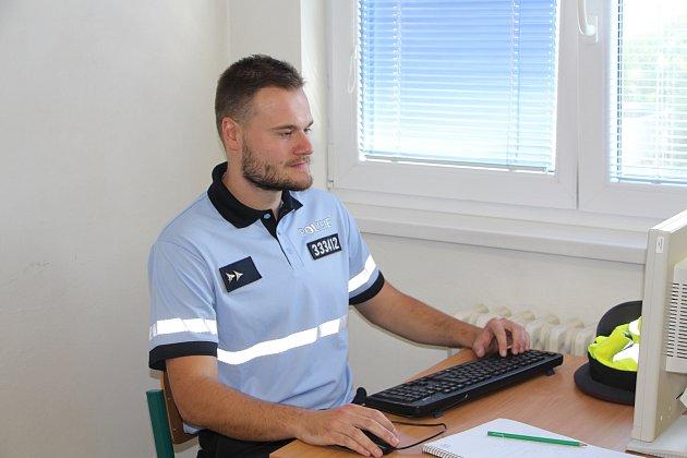 Student brněnské policejní školy Rudolf Častulík zachránil vbrněnském Mariánském údolí topícího se muže.