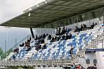 I v nové sezoně zatím bude na fotbalový stadion v Líšni chodit omezený počet diváků.