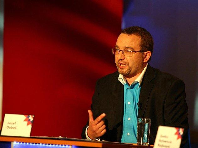Josef Dobeš (Věci veřejné) v Otázkách Václava Moravce.
