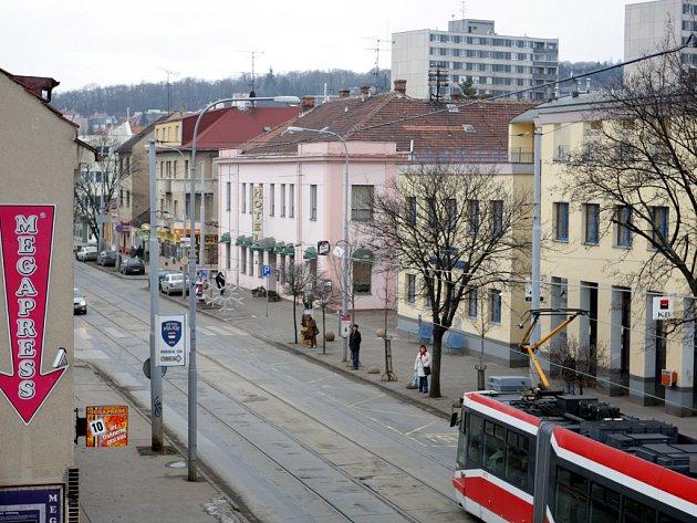 Současný pohled na Hotel Kozák
