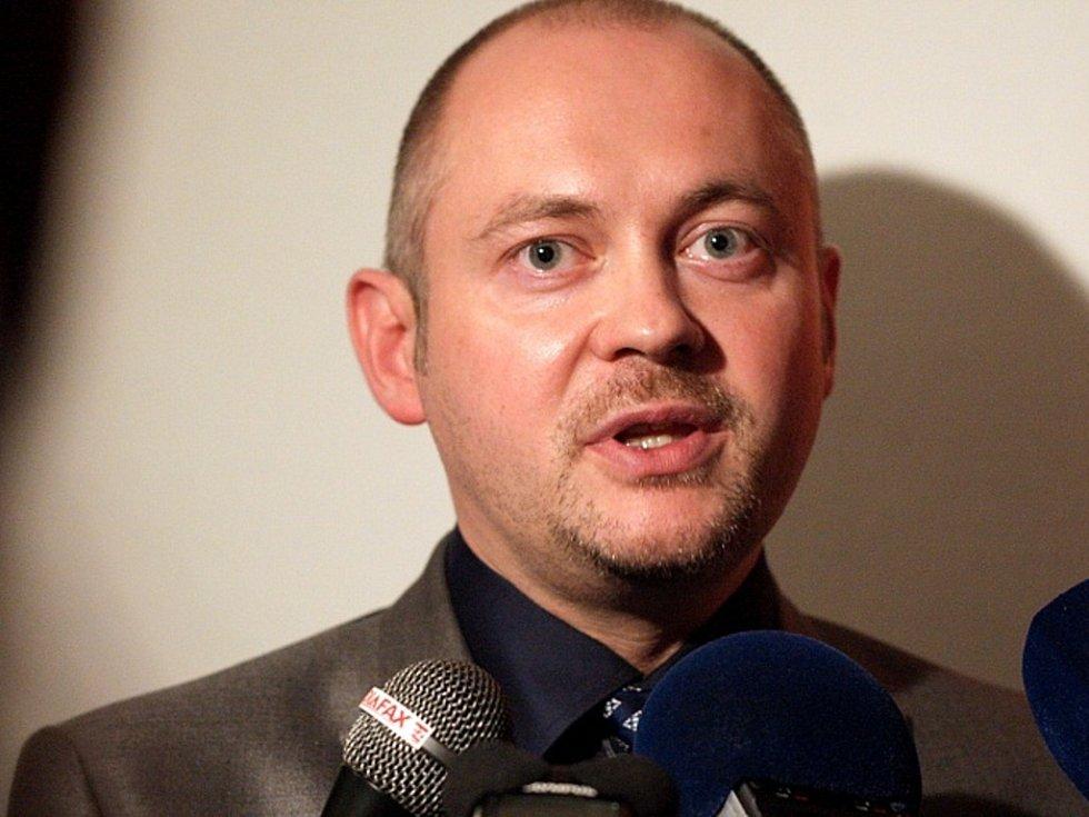 Jihomoravský hejtman Michal Hašek.