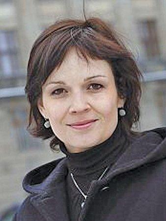 Mluvčí Českých drah Kateřina Šubová.