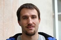 Hráč Volejbalu Brno Martin Klapal na začátku Movemberu.