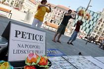Falun Gong v Brně.