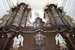 Varhany kostela sv. Tomáše v Brně.