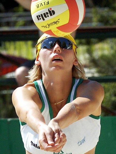 Volejbalistka Soňa Nováková