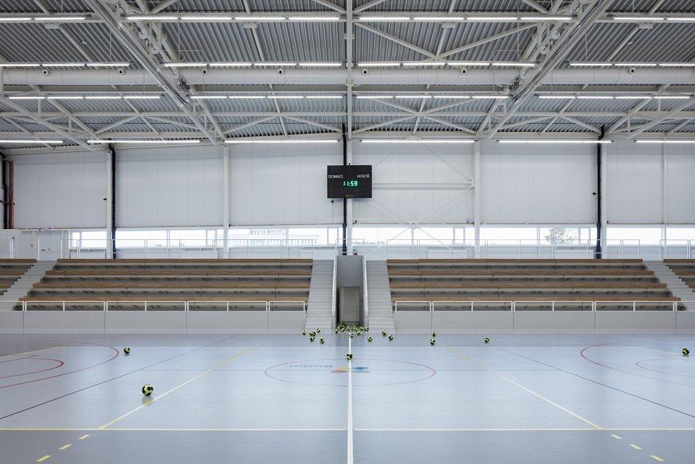 Sportovní hala v Kuřimi