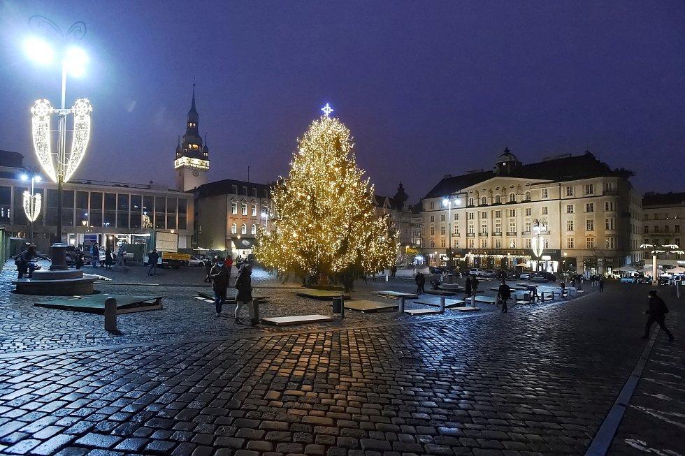 Brno 27.11.2020 - Zelný trh