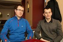 Vývojáři počítačových her Ivan Buchta (vlevo) a Martin Pezlar.