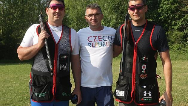 Na snímku zleva Jiří Lipták, Petr Hrdlička a David Kostelecký.