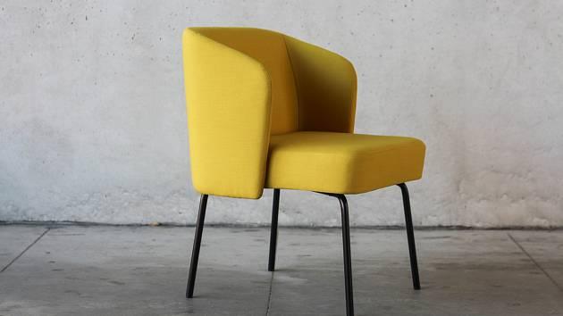 Porotu zaujal i design sedacího prvku Anny Horákové z Mendelovy univerzity.