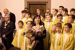 V Červeném kostele v Brně zněly písně velikánů pro Diakonii BETLÉM.