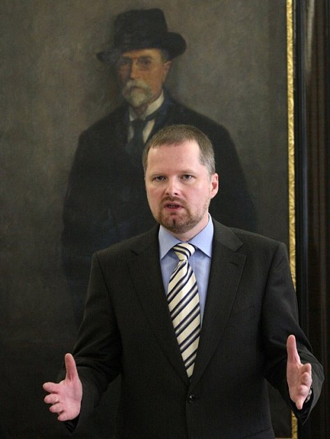 Rektor Masarykovy univerzity Petr Fiala.