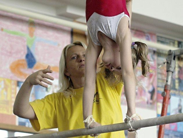 Jedinou Jihomoravankou bude ve finále Díky, trenére zástupkyně znojemské gymnastiky Ivana Křístelová.