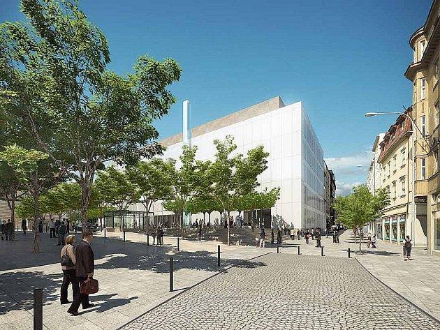 Plánovaná podoba Janáčkova kulturního centra.
