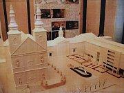 Vizualizace návrhu kašny na Dominikánském náměstí - návrh 20.