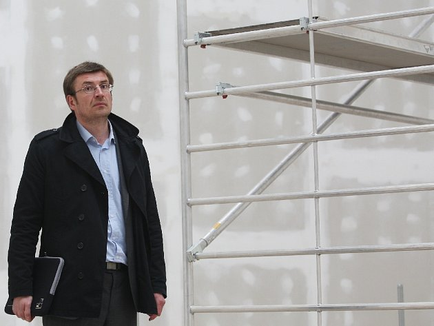 Ředitel Domu umění Rostislav Koryčánek.