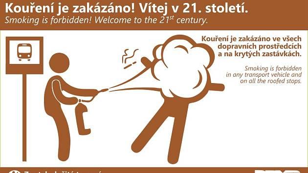 Originální kampaň Dopravního podniku města Brna s názvem Zas tak složité to není.