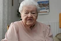Libuše Kulheimová v Domu důstojného stáří v Maloměřicích oslavila kulaté trojciferné narozeniny.