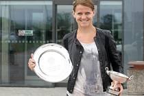 Brněnská tenistka Lucie Šafářová si letos podmanila Paříž.